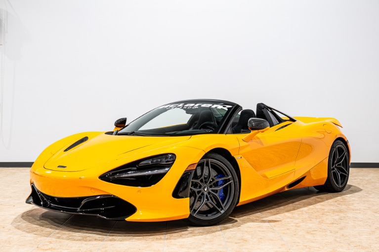 Used 2020 McLaren 720S Spider Performance for sale $362,879 at McLaren Orlando LLC in Titusville FL 32780 3