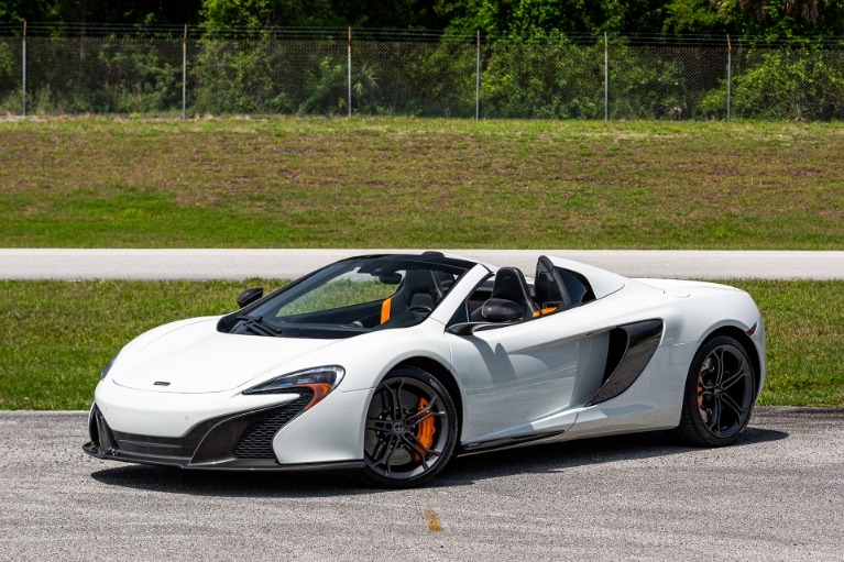 Used 2016 McLaren 650S Spider for sale Sold at McLaren Orlando LLC in Titusville FL 32780 3