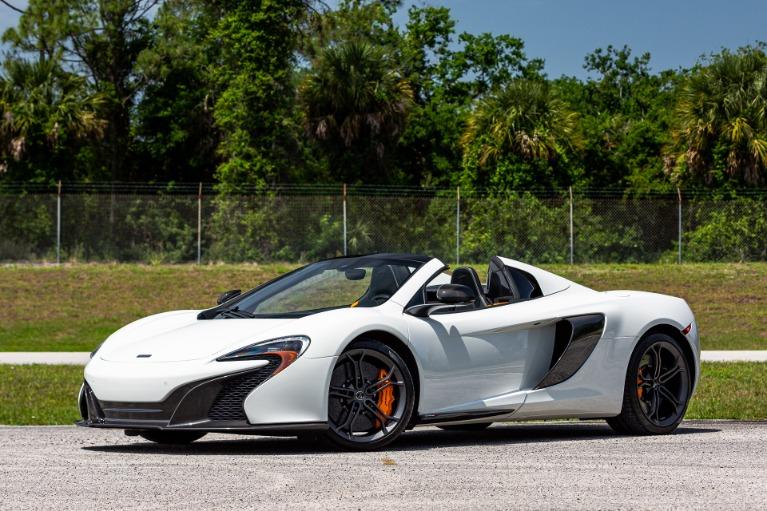 Used 2016 McLaren 650S Spider for sale Sold at McLaren Orlando LLC in Titusville FL 32780 4
