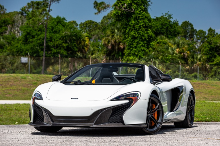 Used 2016 McLaren 650S Spider for sale Sold at McLaren Orlando LLC in Titusville FL 32780 1