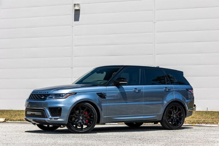 Used 2020 Land Rover Range Rover Sport V8 HSE Dynamic for sale $88,880 at McLaren Orlando LLC in Titusville FL 32780 2