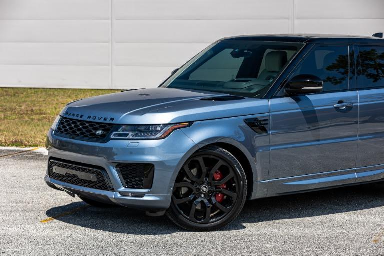 Used 2020 Land Rover Range Rover Sport V8 HSE Dynamic for sale $88,880 at McLaren Orlando LLC in Titusville FL 32780 3