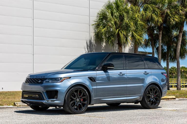 Used 2020 Land Rover Range Rover Sport V8 HSE Dynamic for sale $88,880 at McLaren Orlando LLC in Titusville FL 32780 4