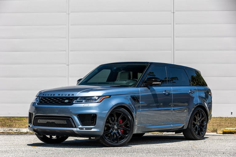 Used 2020 Land Rover Range Rover Sport V8 HSE Dynamic for sale $88,880 at McLaren Orlando LLC in Titusville FL 32780 1