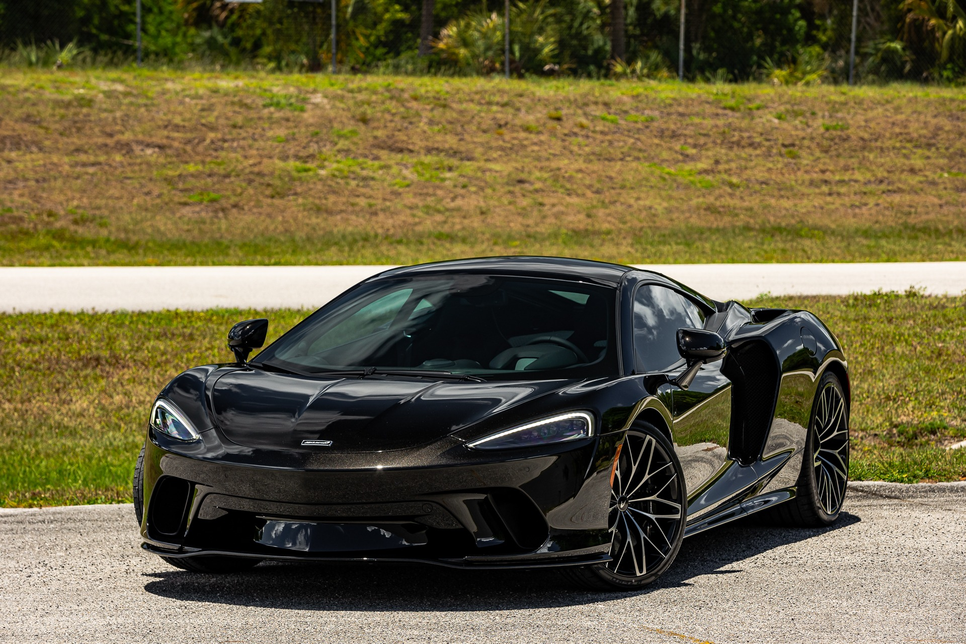 Used 2021 McLaren GT Luxe for sale Sold at McLaren Orlando LLC in Titusville FL 32780 1