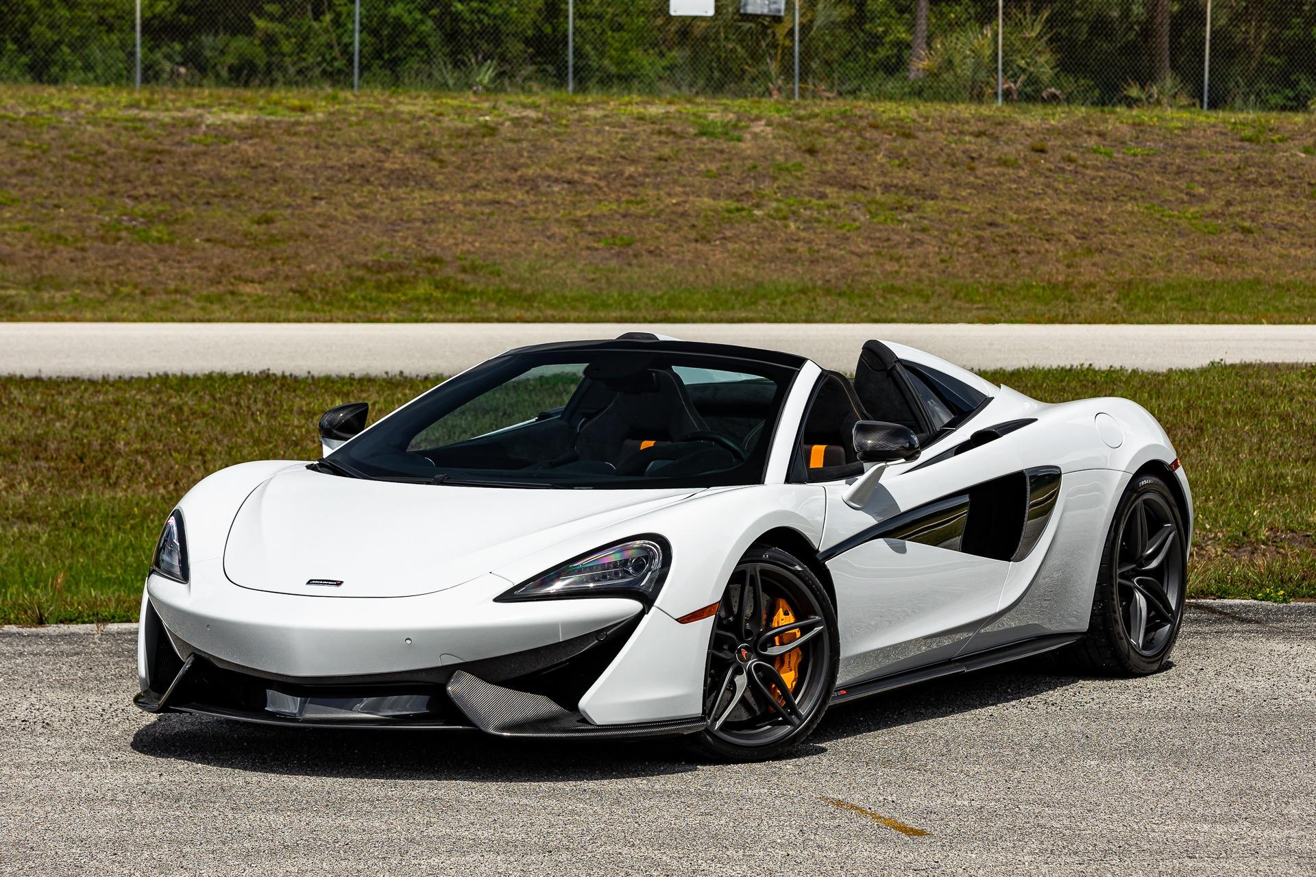 Used 2018 McLaren 570S Spider for sale $188,880 at McLaren Orlando LLC in Titusville FL 32780 1