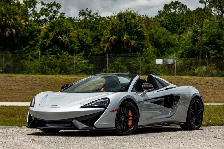 Used 2018 McLaren 570S Spider for sale $184,880 at McLaren Orlando LLC in Titusville FL