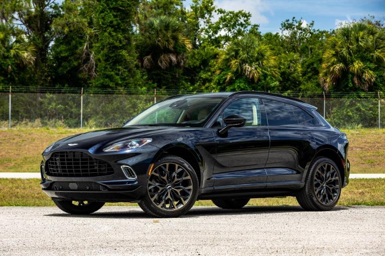 Used 2021 Aston Martin DBX for sale $198,880 at McLaren Orlando LLC in Titusville FL 32780 3