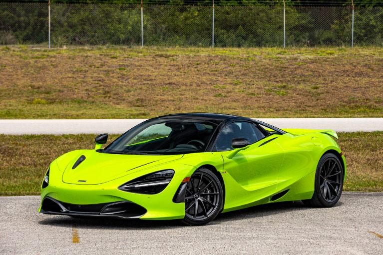 New 2021 McLaren 720S Spider Performance for sale Sold at McLaren Orlando LLC in Titusville FL 32780 3