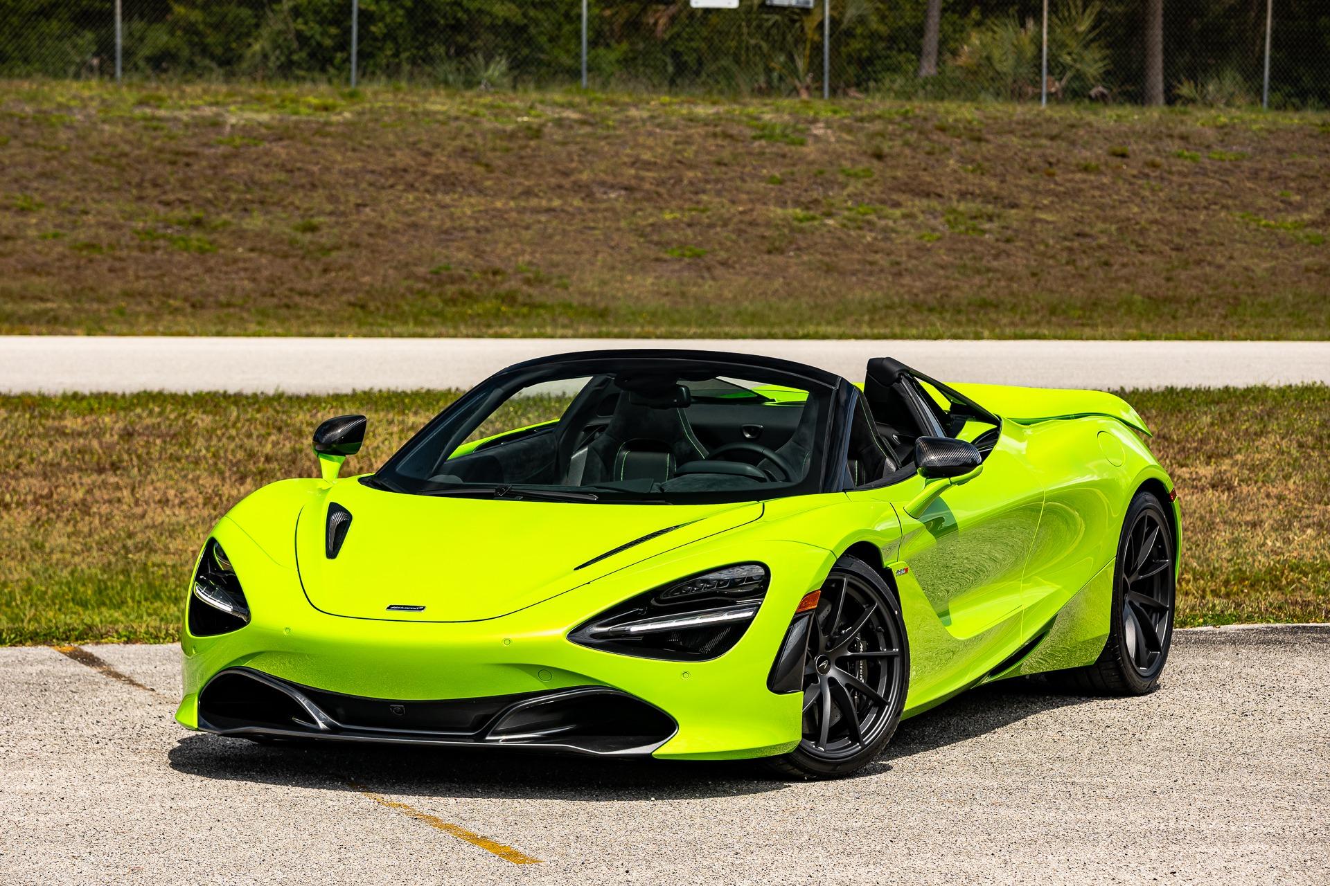 New 2021 McLaren 720S Spider Performance for sale Sold at McLaren Orlando LLC in Titusville FL 32780 1
