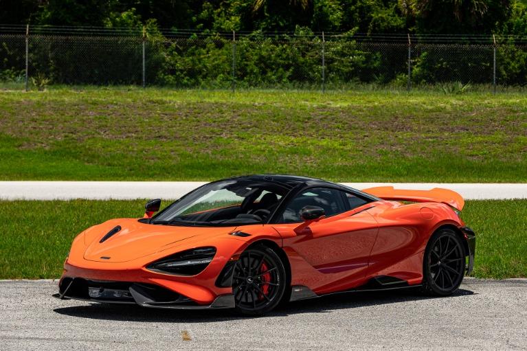 Used 2021 McLaren 765LT for sale Call for price at McLaren Orlando LLC in Titusville FL 32780 2