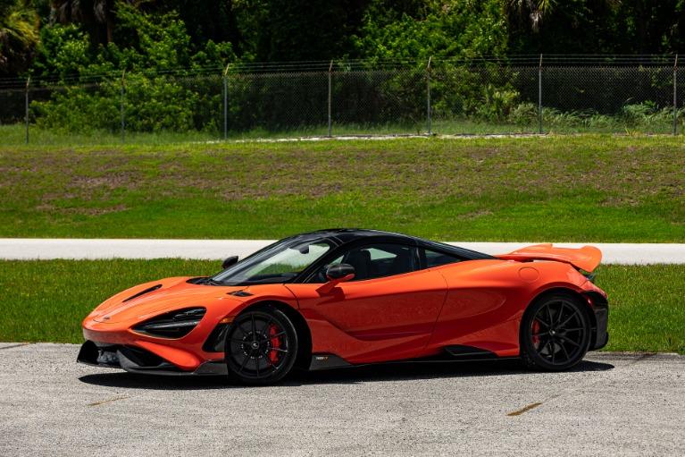 Used 2021 McLaren 765LT for sale Call for price at McLaren Orlando LLC in Titusville FL 32780 3