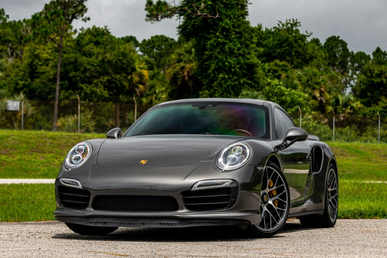 Used 2014 Porsche 911 Turbo S for sale $139,880 at McLaren Orlando LLC in Titusville FL 32780 4