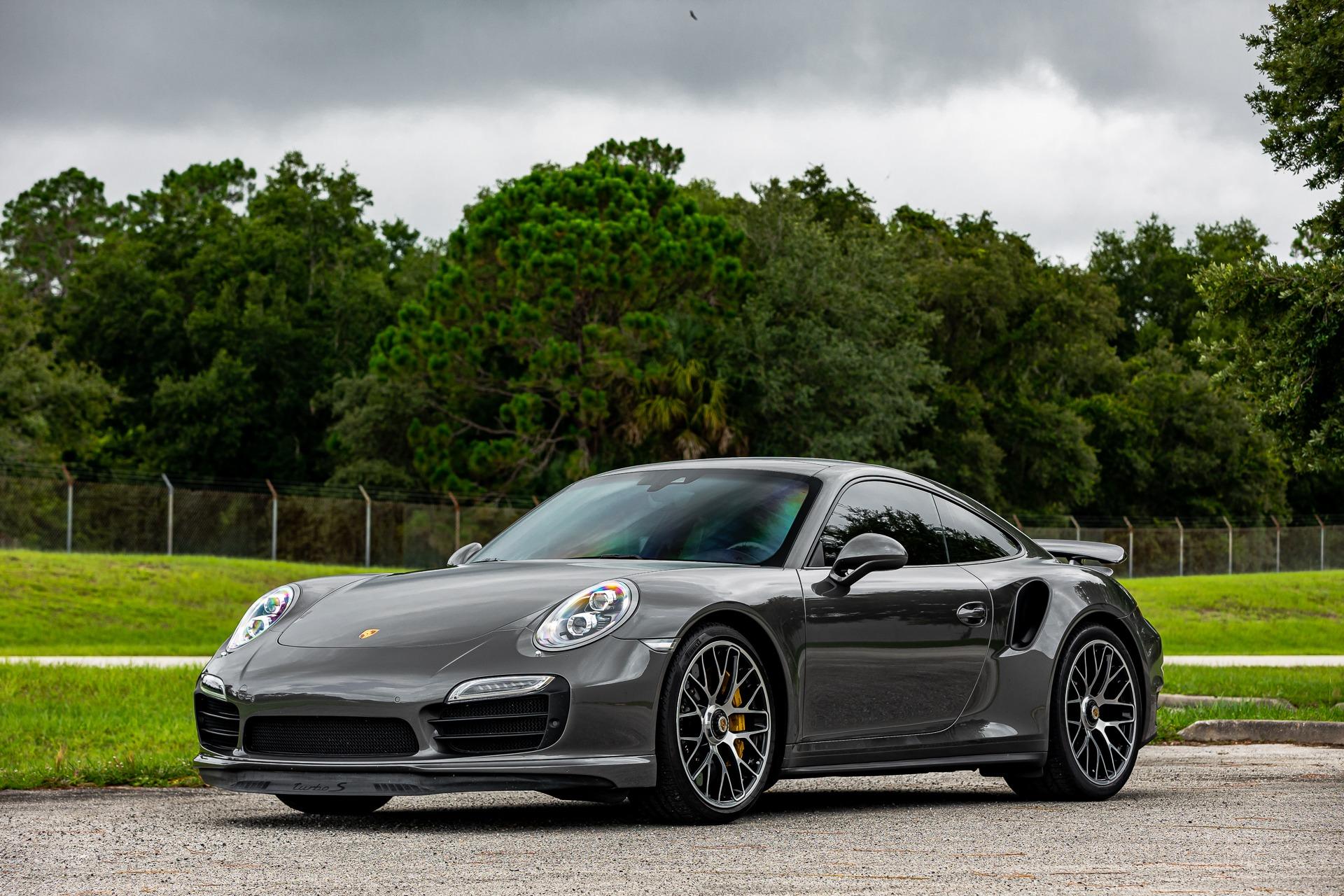 Used 2014 Porsche 911 Turbo S for sale $139,880 at McLaren Orlando LLC in Titusville FL 32780 1