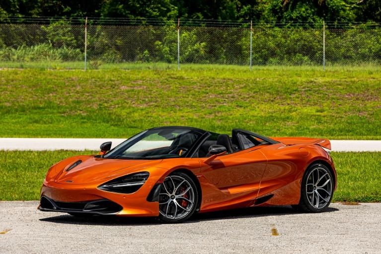 Used 2020 McLaren 720S Spider Performance for sale $338,880 at McLaren Orlando LLC in Titusville FL 32780 2