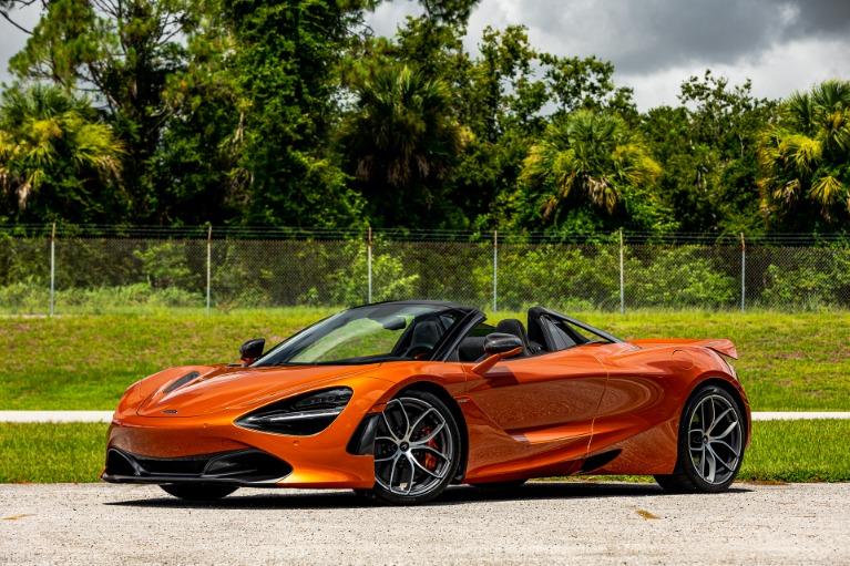 Used 2020 McLaren 720S Spider Performance for sale $338,880 at McLaren Orlando LLC in Titusville FL 32780 3