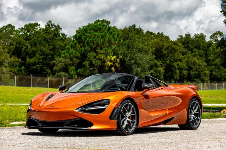Used 2020 McLaren 720S Spider Performance for sale $338,880 at McLaren Orlando LLC in Titusville FL 32780 4