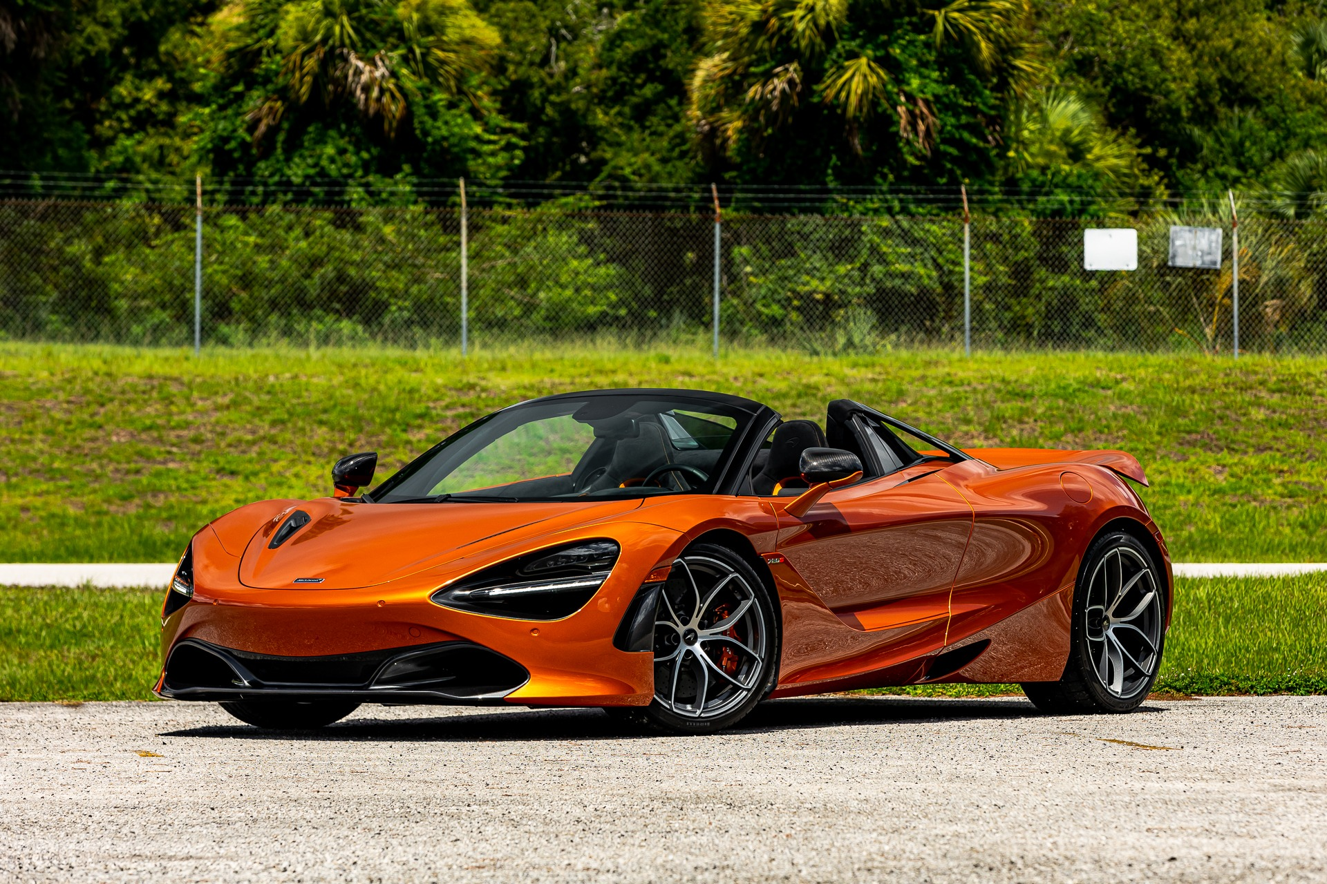 Used 2020 McLaren 720S Spider Performance for sale $338,880 at McLaren Orlando LLC in Titusville FL 32780 1