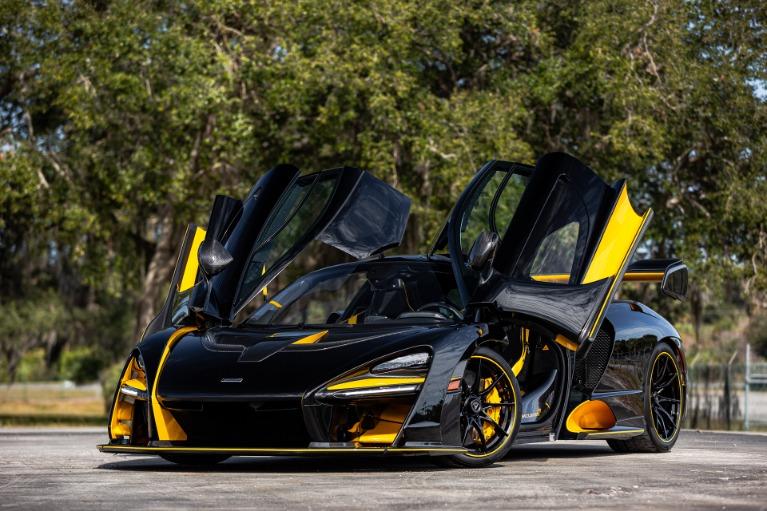 Used 2019 McLaren Senna for sale Call for price at McLaren Orlando LLC in Titusville FL 32780 4