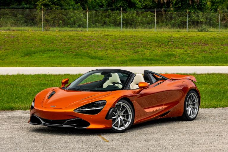 New 2021 McLaren 720S Spider Luxury for sale Call for price at McLaren Orlando LLC in Titusville FL