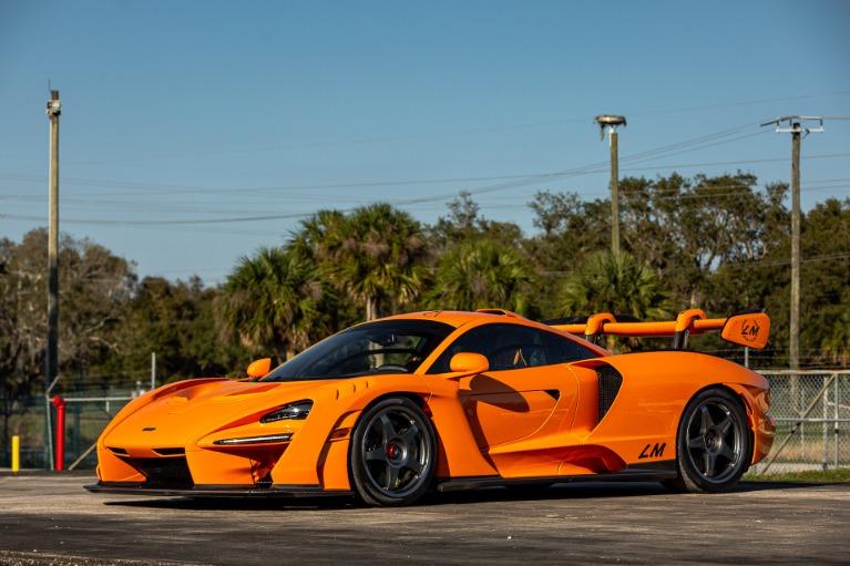 Used 2019 McLaren Senna LM for sale Call for price at McLaren Orlando LLC in Titusville FL 32780 2