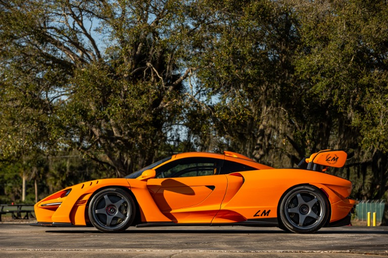 Used 2019 McLaren Senna LM for sale Call for price at McLaren Orlando LLC in Titusville FL 32780 3