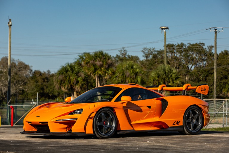 Used 2019 McLaren Senna LM for sale Call for price at McLaren Orlando LLC in Titusville FL 32780 4