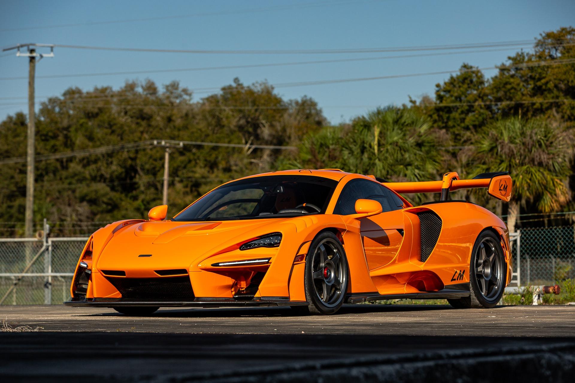 Used 2019 McLaren Senna LM for sale Call for price at McLaren Orlando LLC in Titusville FL 32780 1