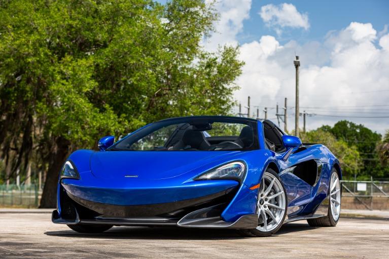 Used 2020 McLaren 600LT Spider Base for sale $246,880 at McLaren Orlando LLC in Titusville FL 32780 4
