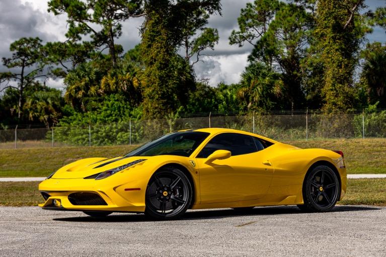 Used 2015 Ferrari 458 Speciale for sale $485,880 at McLaren Orlando LLC in Titusville FL 32780 3