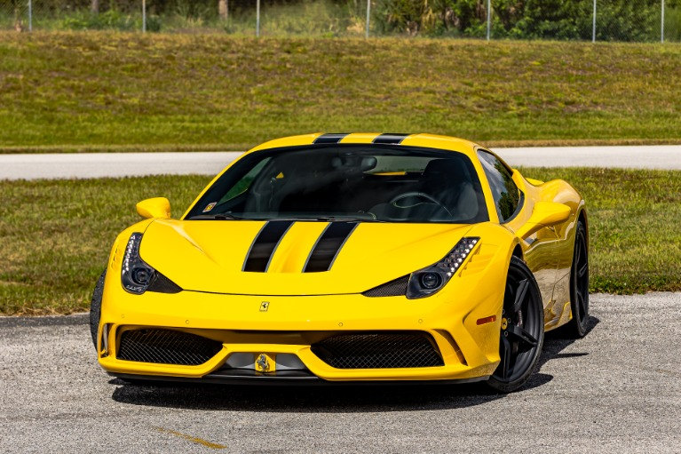 Used 2015 Ferrari 458 Speciale for sale $485,880 at McLaren Orlando LLC in Titusville FL 32780 4