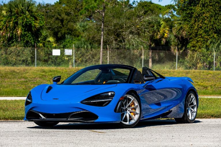 New 2021 McLaren 720S Spider Performance for sale $379,800 at McLaren Orlando LLC in Titusville FL 32780 2