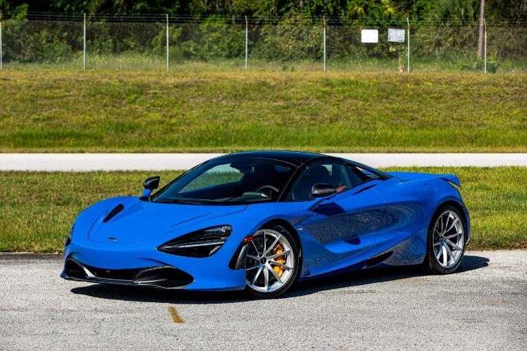 New 2021 McLaren 720S Spider Performance for sale $379,800 at McLaren Orlando LLC in Titusville FL 32780 4