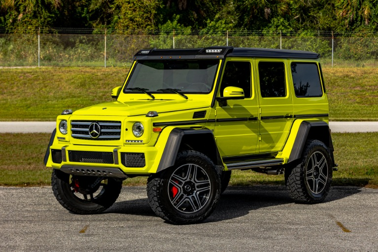 Used 2017 Mercedes-Benz G-Class G 550 4x4 Squared for sale Call for price at McLaren Orlando LLC in Titusville FL 32780 2