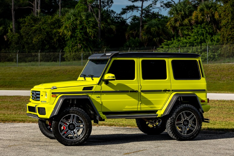 Used 2017 Mercedes-Benz G-Class G 550 4x4 Squared for sale Call for price at McLaren Orlando LLC in Titusville FL 32780 3