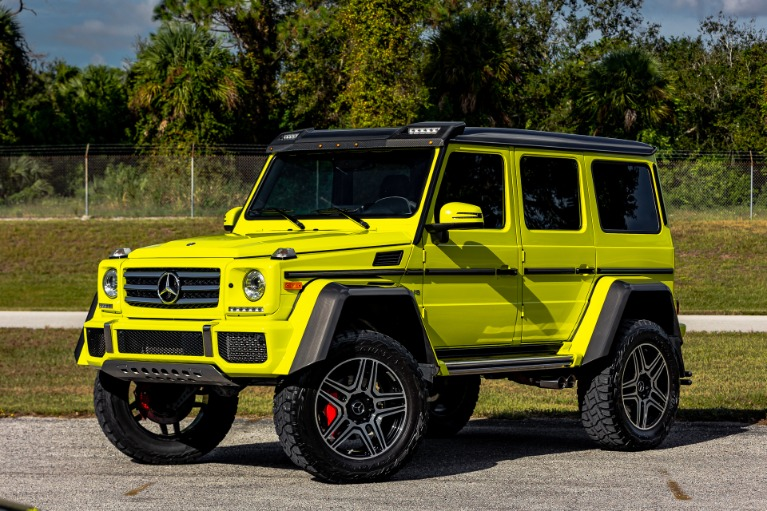 Used 2017 Mercedes-Benz G-Class G 550 4x4 Squared for sale Call for price at McLaren Orlando LLC in Titusville FL 32780 4