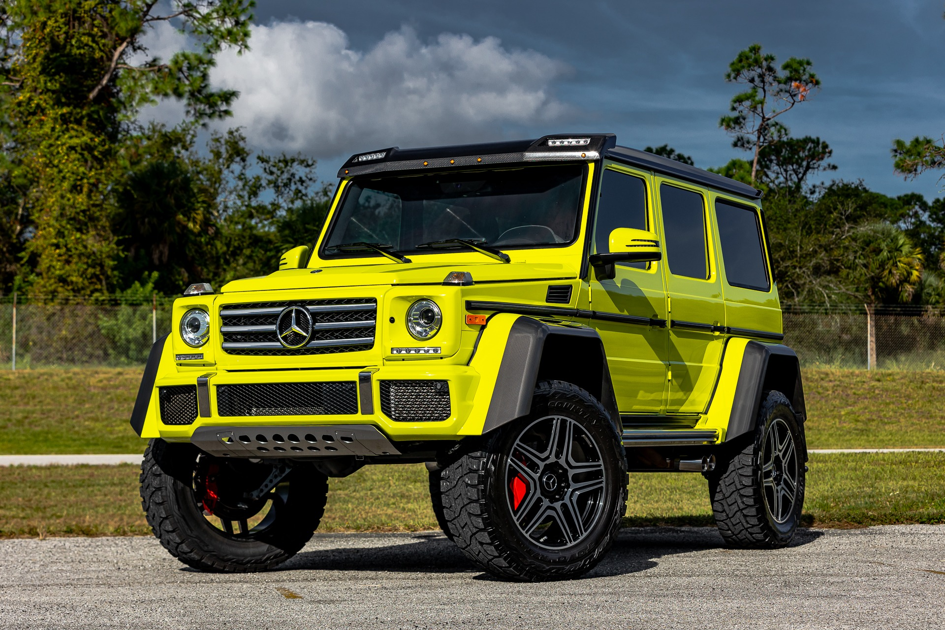 Used 2017 Mercedes-Benz G-Class G 550 4x4 Squared for sale Call for price at McLaren Orlando LLC in Titusville FL 32780 1