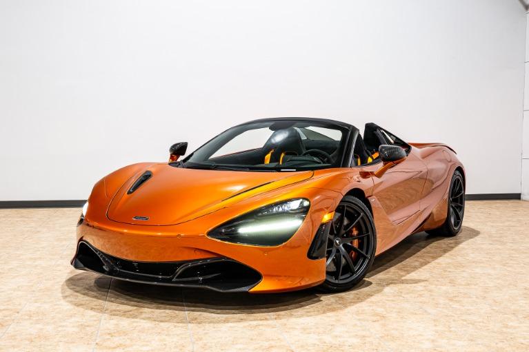 New 2019 McLaren 720S Spider Performance for sale $400,550 at McLaren Orlando LLC in Titusville FL 32780 2