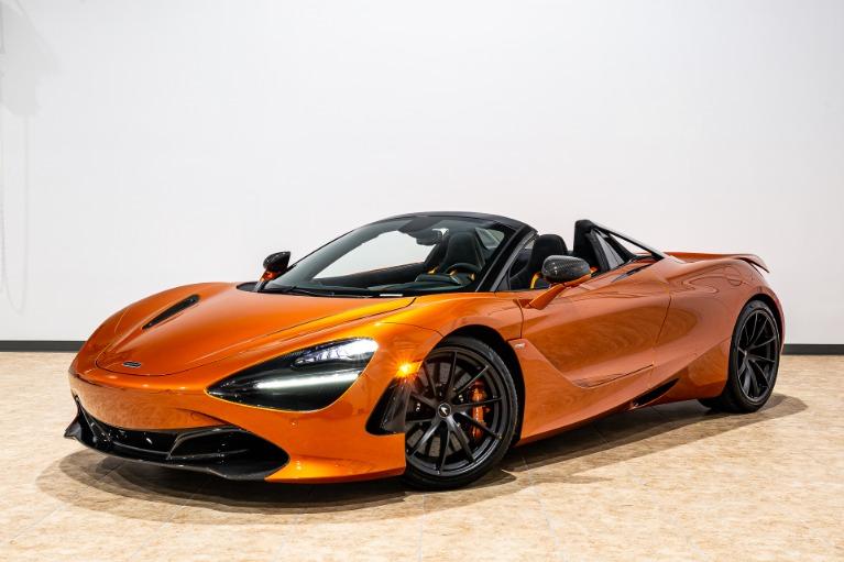 New 2019 McLaren 720S Spider Performance for sale $400,550 at McLaren Orlando LLC in Titusville FL 32780 3