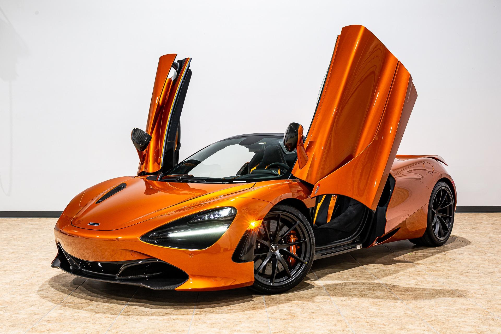 New 2019 McLaren 720S Spider Performance for sale $400,550 at McLaren Orlando LLC in Titusville FL 32780 1