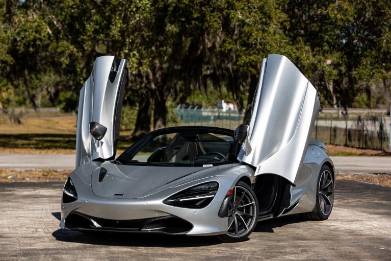 New 2020 McLaren 720S Spider Performance for sale $370,280 at McLaren Orlando LLC in Titusville FL 32780 3