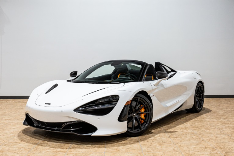 New 2020 McLaren 720S Spider Performance for sale $367,540 at McLaren Orlando LLC in Titusville FL 32780 1