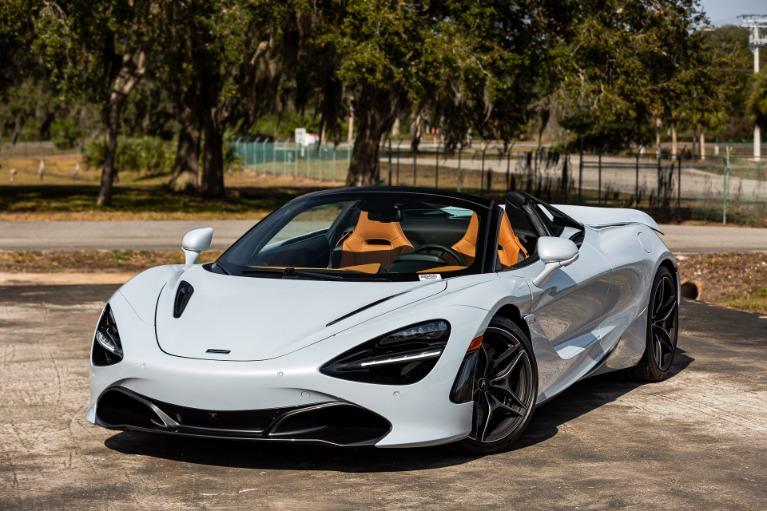 New 2020 McLaren 720S Spider Luxury for sale $359,480 at McLaren Orlando LLC in Titusville FL 32780 1