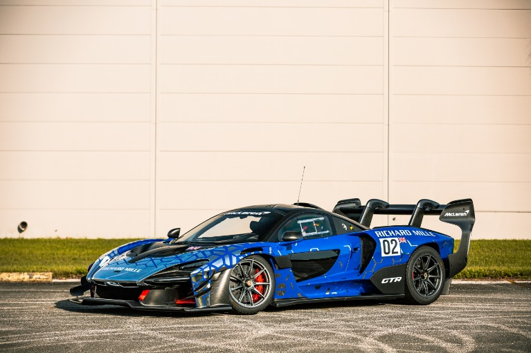 Used 2020 McLaren Senna GTR for sale Call for price at McLaren Orlando LLC in Titusville FL 32780 2