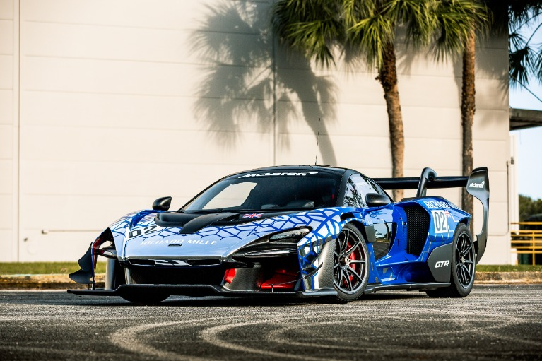 Used 2020 McLaren Senna GTR for sale Call for price at McLaren Orlando LLC in Titusville FL
