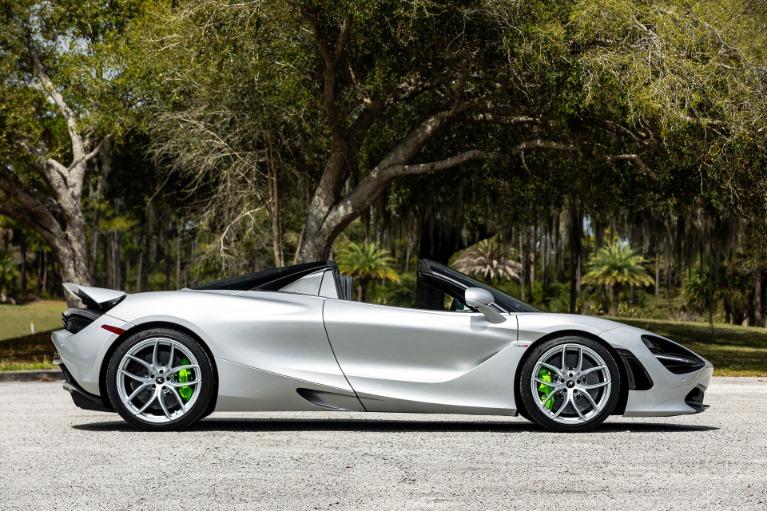 New 2020 McLaren 720S Spider Luxury for sale $362,520 at McLaren Orlando LLC in Titusville FL 32780 4