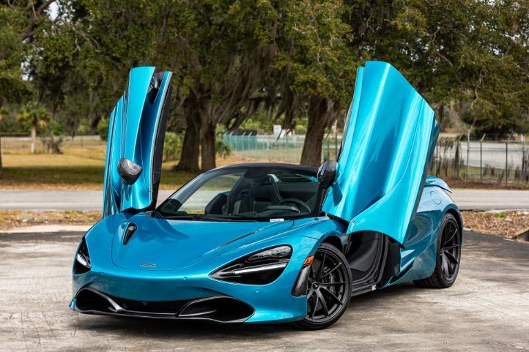New 2020 McLaren 720S Spider Performance for sale $369,240 at McLaren Orlando LLC in Titusville FL 32780 3