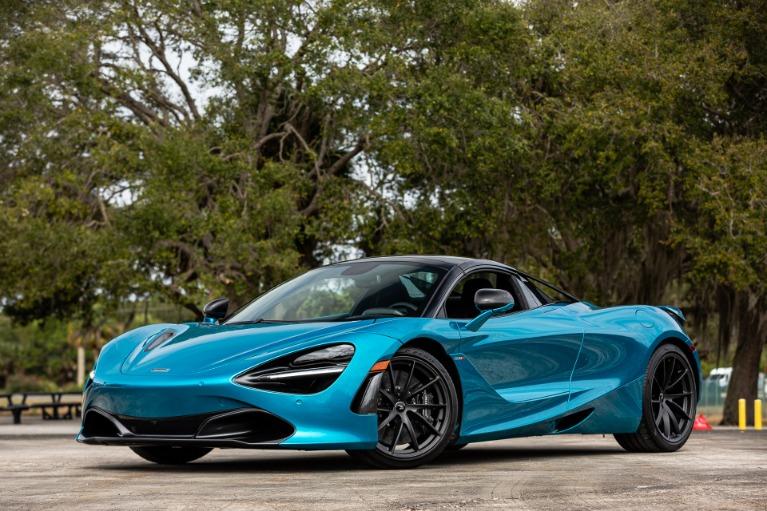 New 2020 McLaren 720S Spider Performance for sale $369,240 at McLaren Orlando LLC in Titusville FL 32780 4