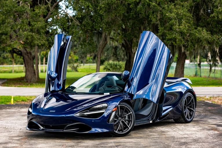 New 2020 McLaren 720S Spider Luxury for sale $360,270 at McLaren Orlando LLC in Titusville FL 32780 3