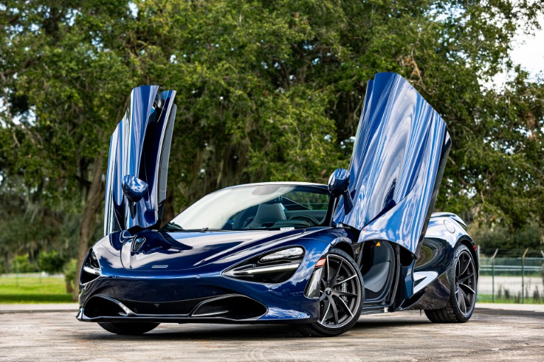 New 2020 McLaren 720S Spider Luxury for sale $360,270 at McLaren Orlando LLC in Titusville FL 32780 4